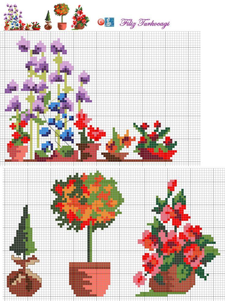 Bahçeden aldığım ufak motifleri de buraya ekledim sizler için :) Designed  by Filiz Türkocağı...