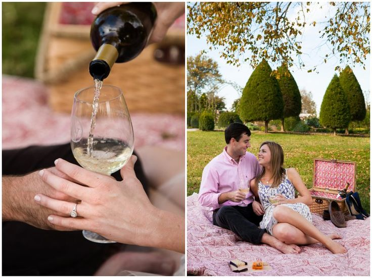 Picnic themed #engagement photos | photo by http://wedlockimages.com | see more http://www.thebridelink.com/blog/2014/01/16/picnic-themed-engagement-photos/