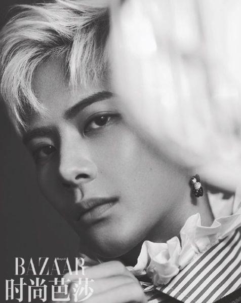 Jackson oozes sexiness in China's 'Harper's Bazaar'! | allkpop.com