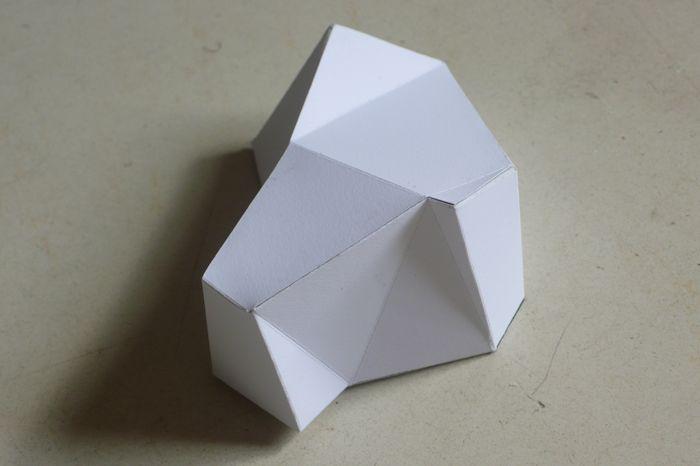 """PapermodelStone"", 2011"