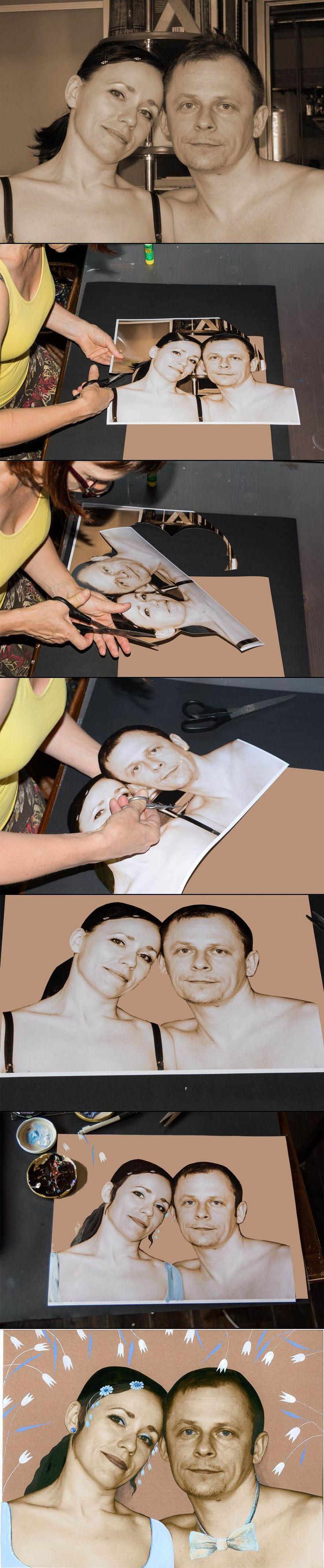 Jak Wykonać Portret Ślubny w Starym Stylu - Krok po Kroku
