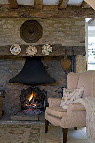 English cottage - nice hearth