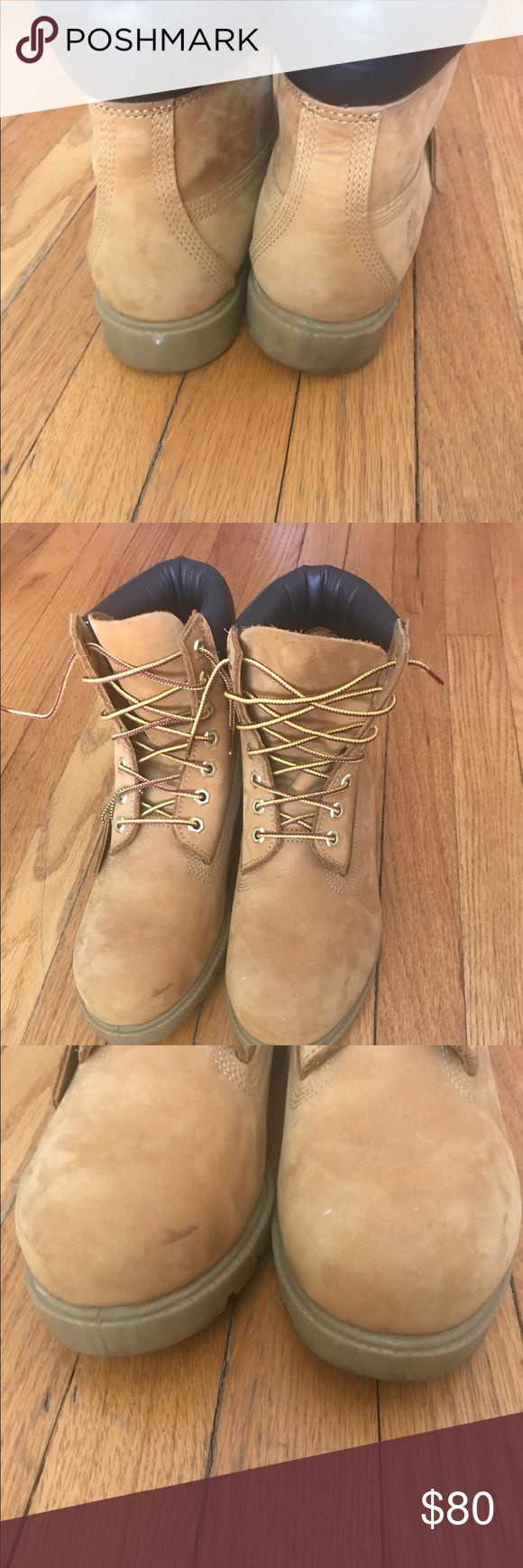 Men's Wheat Timberland Boots size 8 Gently used, good condition. Men's Wheat Timberland Boots size 8. Check out the pics. Timberland Shoes Boots