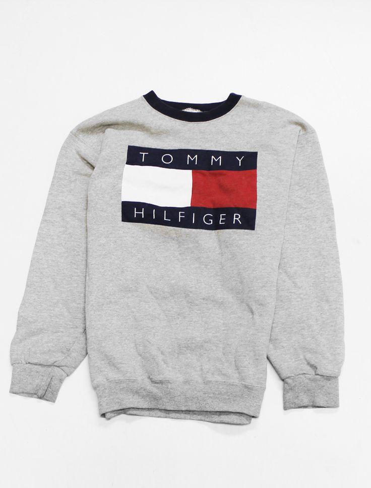 #tommy hilfiger #1990's #crewneck