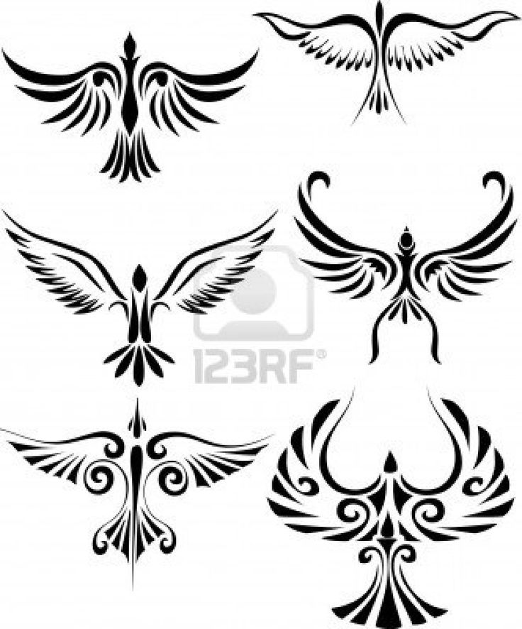Google Image Result for http://us.123rf.com/400wm/400/400/dagadu/dagadu1008/dagadu100800050/7679141-bird-tribal-tattoo.jpg