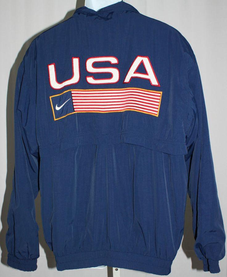 Nike Durango Fall Classic Mens Navy Blue Jacket Windbreaker Mens Size Large (L) #Nike #Windbreaker