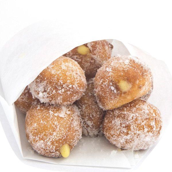 Key Lime Donut Bites. Recipe from Yardbird Southern Table, Miami Beach, Florida. Photo by Jonathan Boncek.