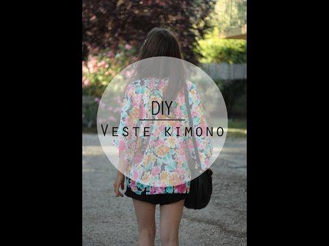 DIY // Le cas de la veste kimono - Cosméto & Co