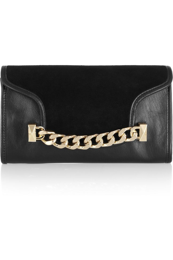 Leather Statement Clutch - Rite of Spring by VIDA VIDA fxjYR