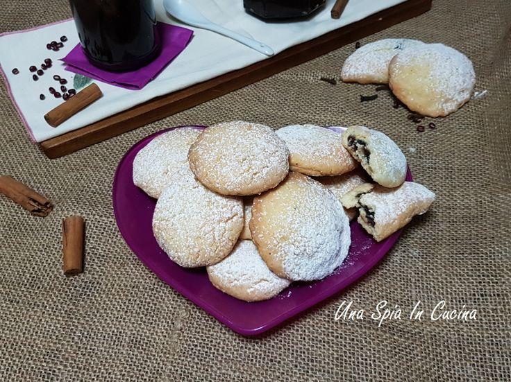 Biscotti ripieni con Anko e cioccolato gluten free