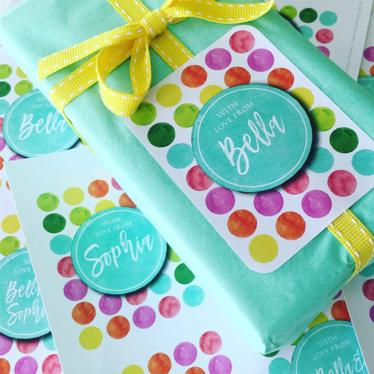 Macaroon personalized gift stickers, Personalize online www.macaroon.co.za