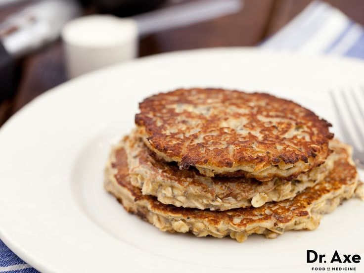 Chia seeds are high in omega 3 fats, fiber and numerous vitamins and minerals. Try this coconut chia protein pancake recipe and add chia to your diet.