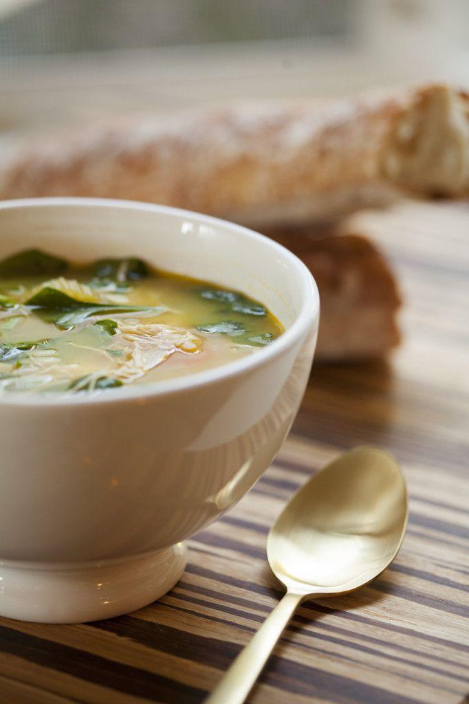 Easy lemon chicken orzo soup delicious easy winter for Winter soup recipes easy