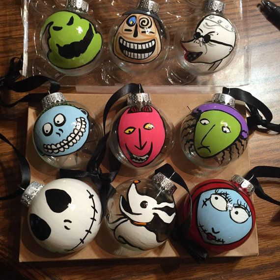 The 25+ best Nightmare before christmas ornaments ideas on ...