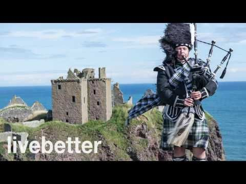 Ierse Keltische ontspannende instrumentale muziek met doedelzak, fluit, harp en viool - YouTube
