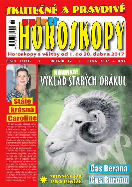 Horoskopy - Duben 2017
