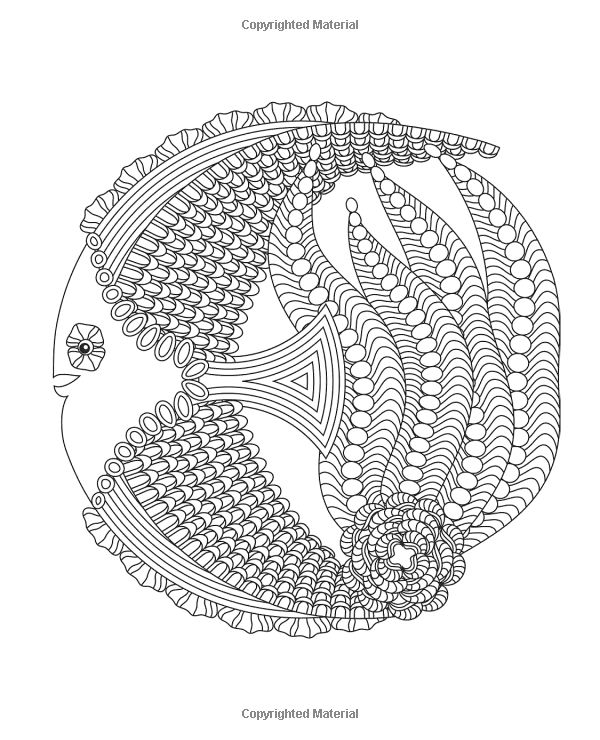 ocean mandalas coloring pages - photo #10