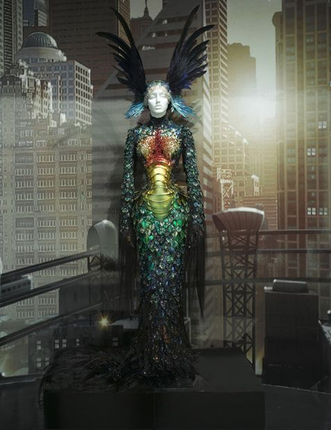 Grace Jones' costume by costume designer Eiko Ishioka