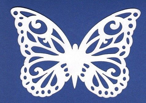 This is a photo of Gratifying Butterfly Cut Out Printable
