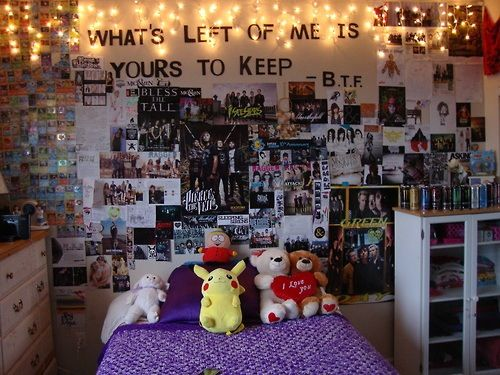 Minus the stuffed animals, this room is perfect.