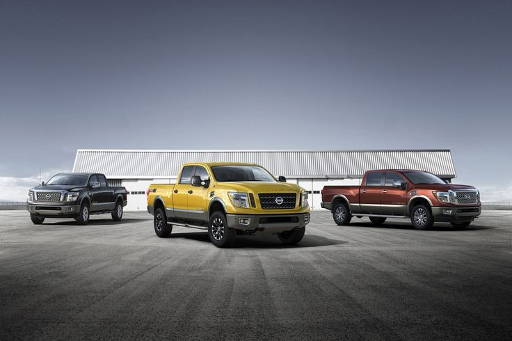 Nissan Debuts V8 Diesel-Powered 2016 Titan XD in Detroit
