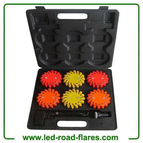 6 Packs Rechargeable LED Road Flares Safety Flares Emergency Flares Red Yellow Amber 6 Pack Rechargeable LED Safety Flares, 6 Pack Rechargeable Led Emergency Flares, 6 Pack LED Safety Flares,6 Pack Led Emergency Flares