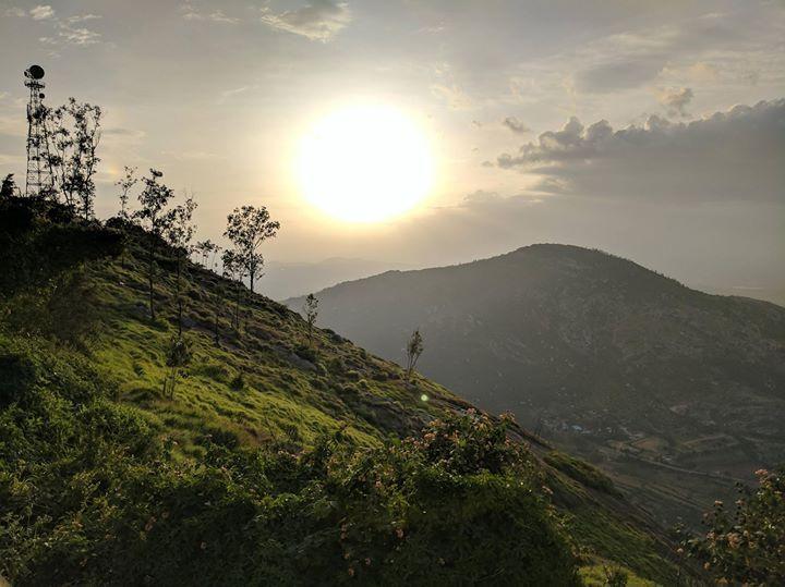 Nandi hills Bengaluru #IncredibleIndia via http://ift.tt/2iq2TNt