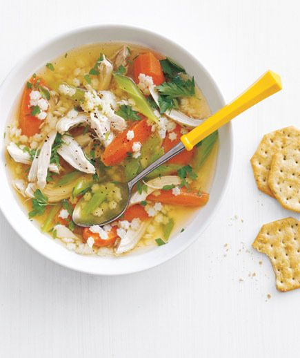 Slow-Cooker Chicken and Pasta Soup recipe