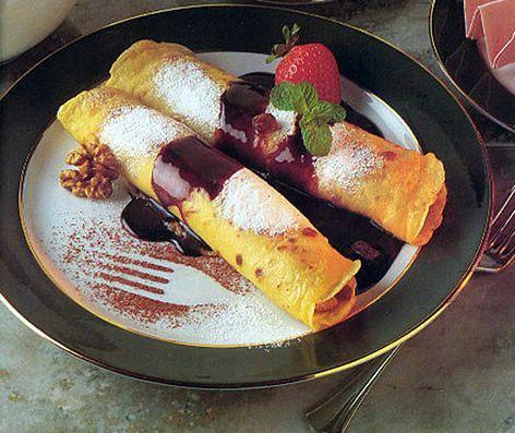 My most Favorite Hungarian Dessert- Palacsinta (crepes)