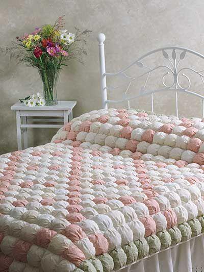 Quilting - Bed Quilt Patterns - Pieced Quilt Patterns - Irish Chain Biscuit Quilt