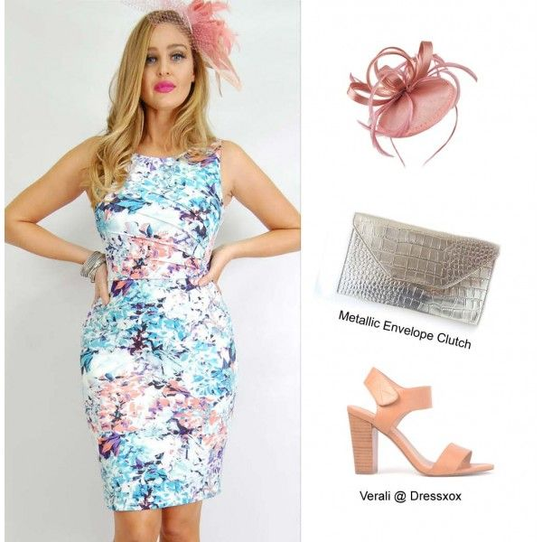 Viyena Stretch Floral Dress