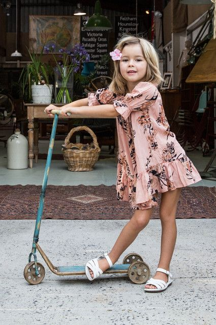 Immy Belle Dress Saffron - I'm in love with the kids clothing line! So cute!!