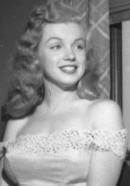 Marilyn jeune - Sublime Marilyn