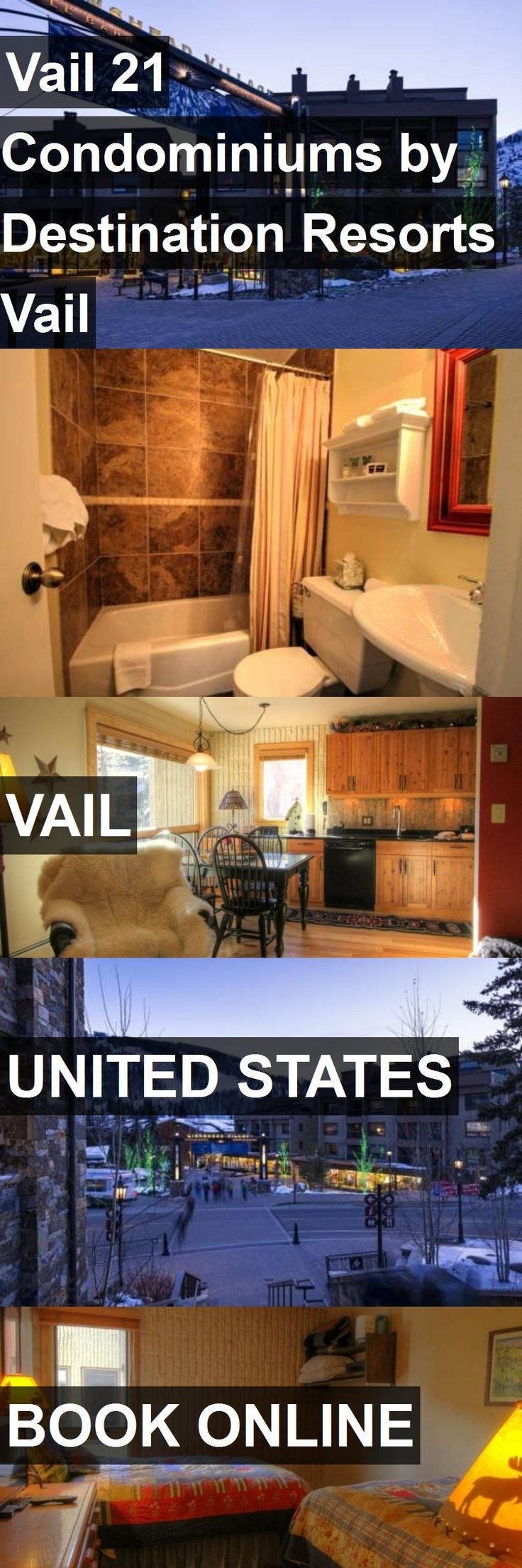 Hotel Vail 21 Condominiums by Destination Resorts Vail in Vail, United States. For more information, photos, reviews and best prices please follow the link. #UnitedStates #Vail #travel #vacation #hotel