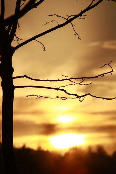 Gün batımı..