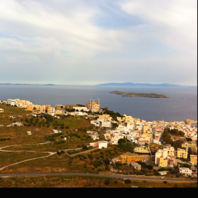 View from Ano Syros....