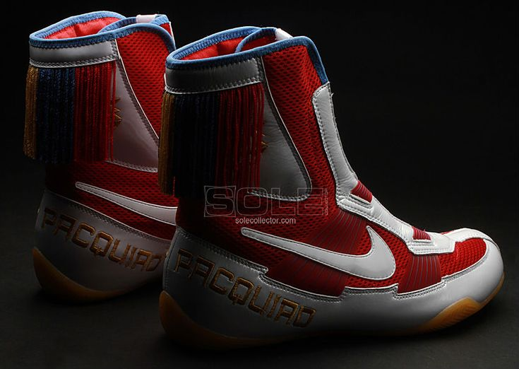 Manny Pacquiao's Fight Night Boxing Shoes