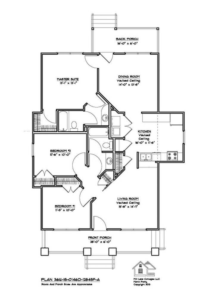 Lovely Large Ranch Home Plans Cliff Ranch House Floor