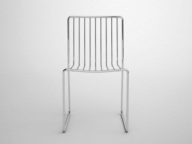17 best images about flatsteel stuff on pinterest branding iron furniture - Rocking chair alinea ...
