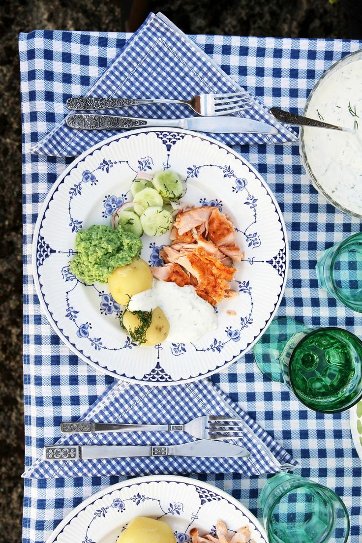 Scandinavian summer meal, by Fanni & Kaneli