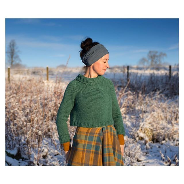 This pattern is now available! It's named Carbeth (after the loch behind my home) and is a very speedy and straightforward knit. There are kits in the shop (see profile link) and the digital pattern is up on Ravelry. West Highland Way club subscribers receive a 50% discount on the pattern - check your inboxes!