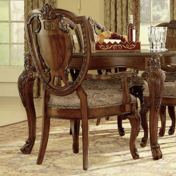 14 Best Chairs Images On Pinterest  Old Chairs Chair Backs And Custom Old Fashioned Dining Room Sets Decorating Inspiration