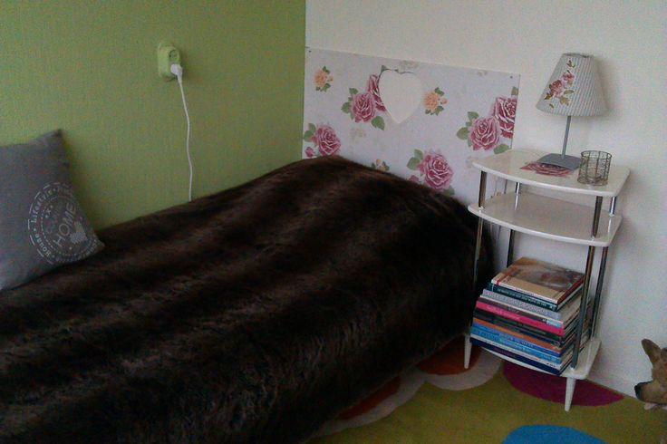 25 beste idee n over geschilderd behang op pinterest - Behang hoofdbord ...