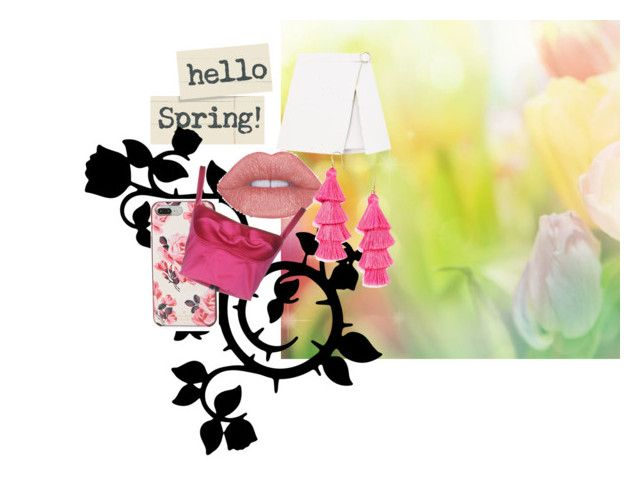 """spring"" by ashikagangwal on Polyvore featuring Kate Spade and Simona Corsellini"