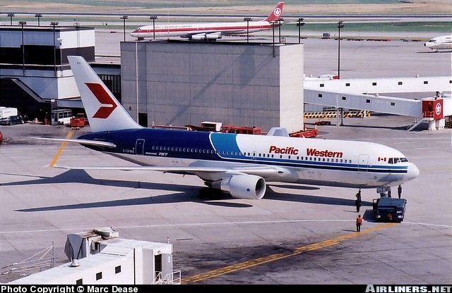 PW767 Pacific Western Airlines