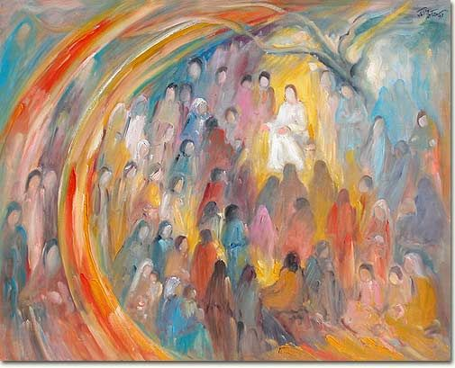 art,the beatitudes | Sacred Art, paintings, The Beatitudes, Les Béatitudes