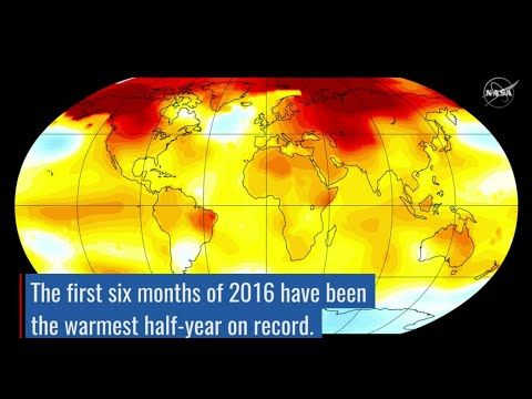 Climate Change: Climate Resource Center - Video: Record-breaking climate trends in 2016