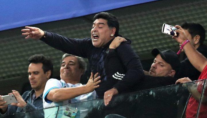 Fifa Punished Diego Maradona For Behaviours Stadium Diego Maradona World Sports News World Cup