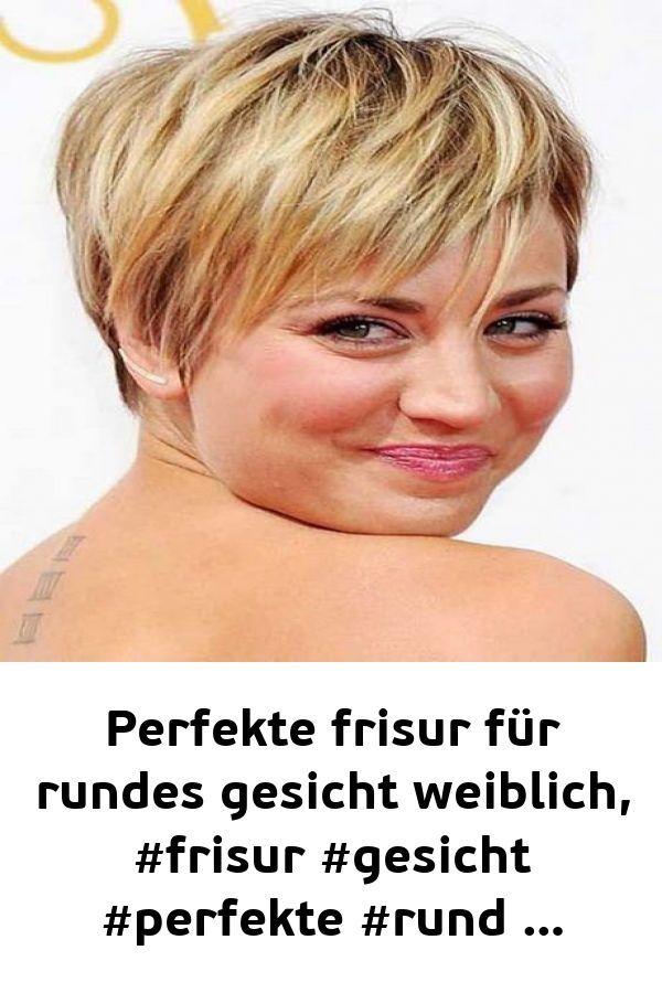 Perfekte frisur für rundes gesicht weiblich #fris…