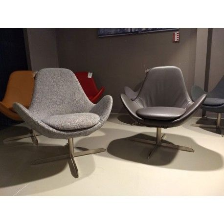 Outlet: Ghost design fauteuil op draaivoet - Depot Design